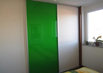 Serie S 1500 Glas grün nach Sikkensfarbkarte