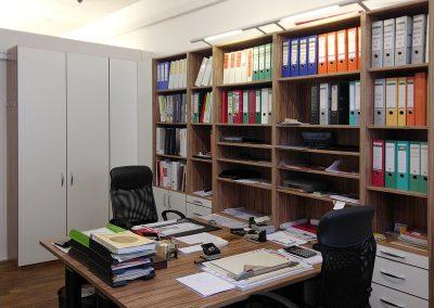 Regale für das Büro in Rosenheim