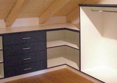 Individuelle Lösung für Dachschrägen