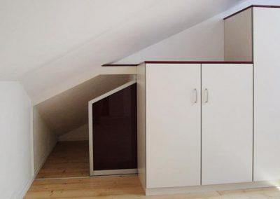 Dachraumtrennung für viel Strauraum und Ordnung