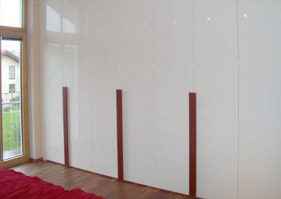 Hochglanz Einbauschrank im Design, Rohrdorf